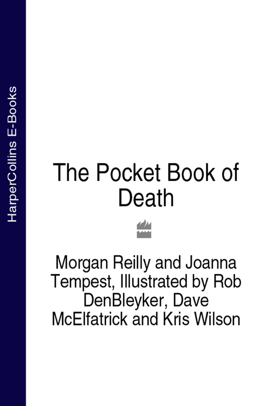 Rob DenBleyker The Pocket Book of Death a hard death