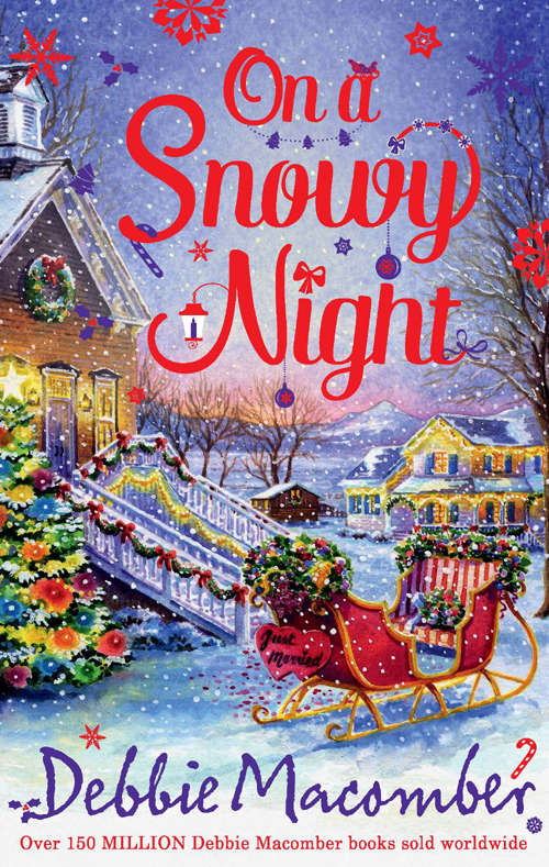 Debbie Macomber On a Snowy Night: The Christmas Basket / The Snow Bride цена