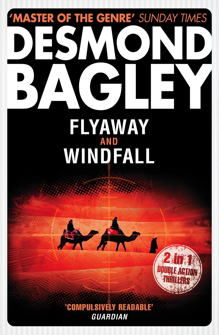 Desmond Bagley Flyaway / Windfall цена