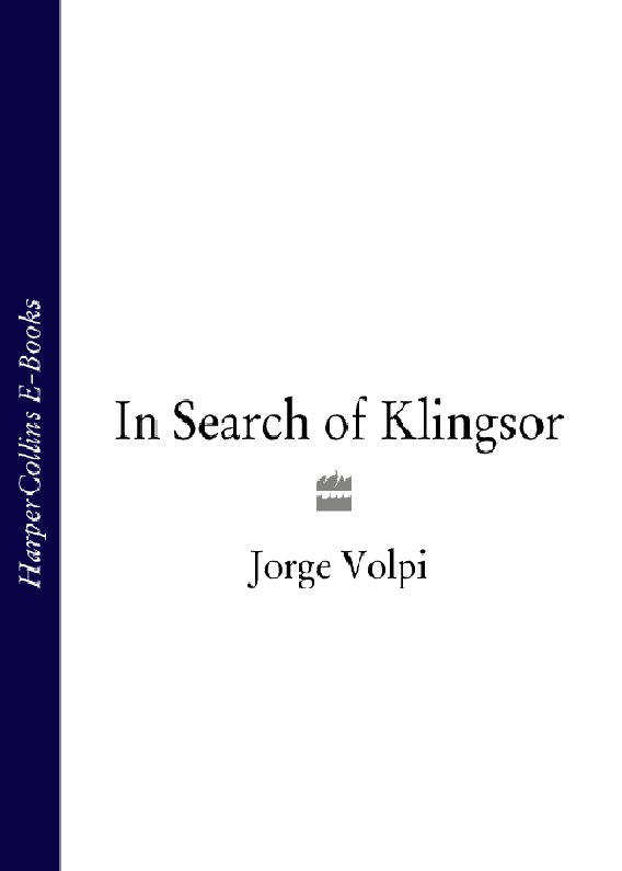 Jorge Volpi In Search of Klingsor jorge vercillo uberlândia