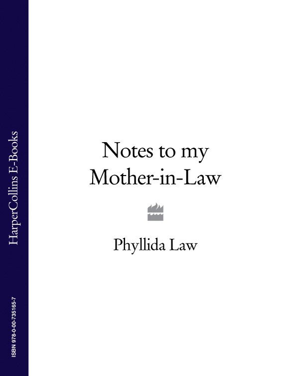 Phyllida Law Notes to my Mother-in-Law commercial law