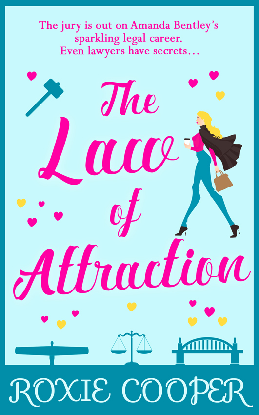 Roxie Cooper The Law of Attraction: the perfect laugh-out-loud read for autumn 2018 jaimie admans the chateau of happily ever afters a laugh out loud romcom