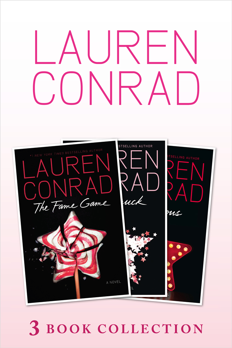 Lauren Conrad The Fame Game, Starstruck, Infamous: 3 book Collection