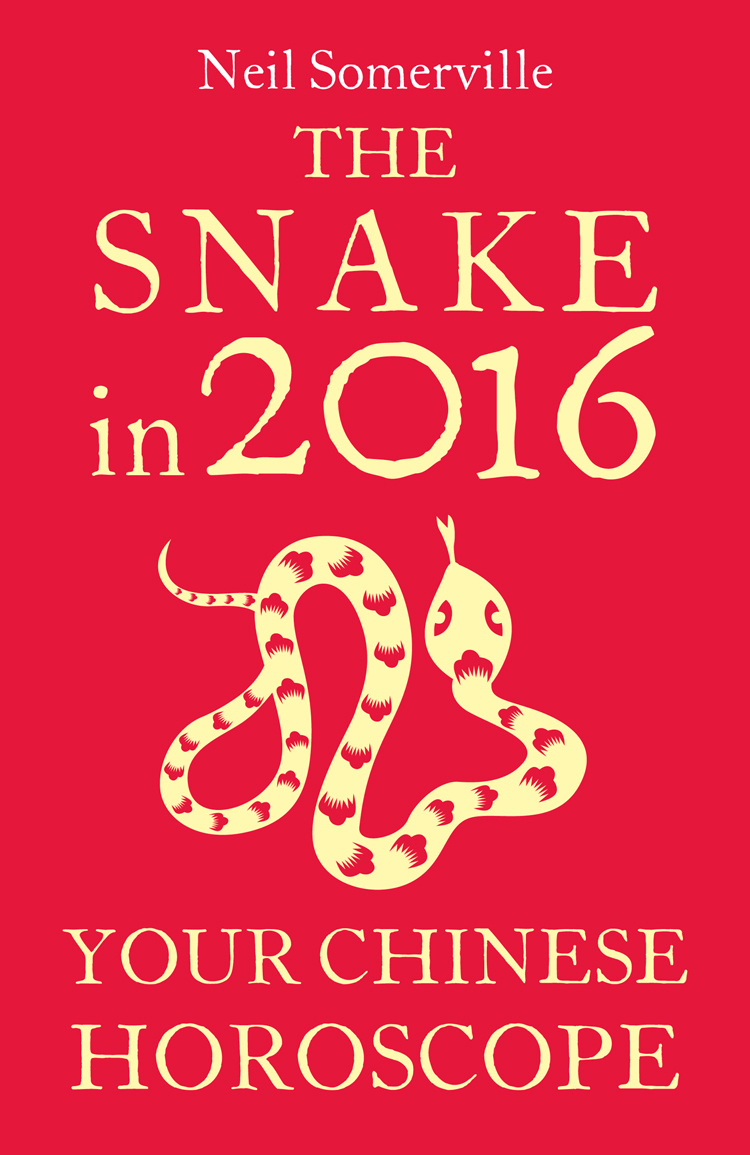 Neil Somerville The Snake in 2016: Your Chinese Horoscope скальп петуха veniard chinese cock cape