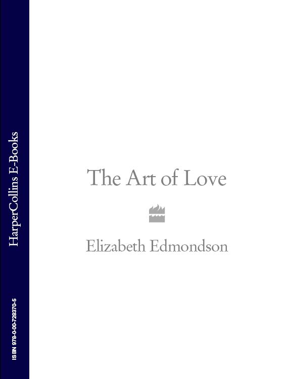 Elizabeth Edmondson The Art of Love платье art love art love ar029ewcsyk4