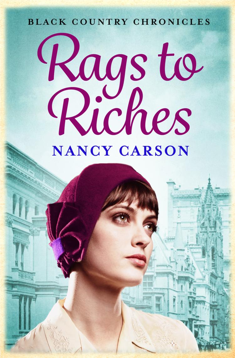 Nancy Carson Rags to Riches enfants riches déprimés футболка