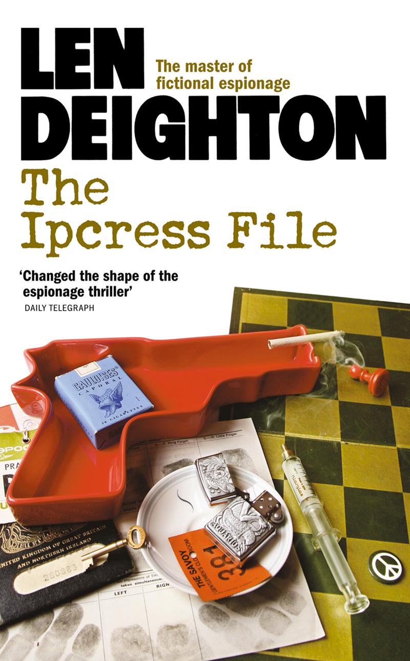 Len Deighton The Ipcress File len deighton ss gb