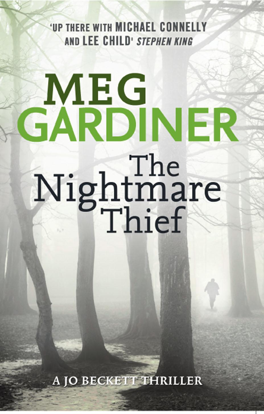Meg Gardiner The Nightmare Thief the thief