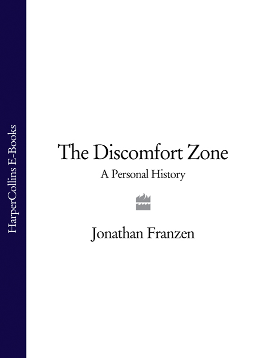 Jonathan Franzen The Discomfort Zone: A Personal History record of the family of levi kimball and some of his descendants