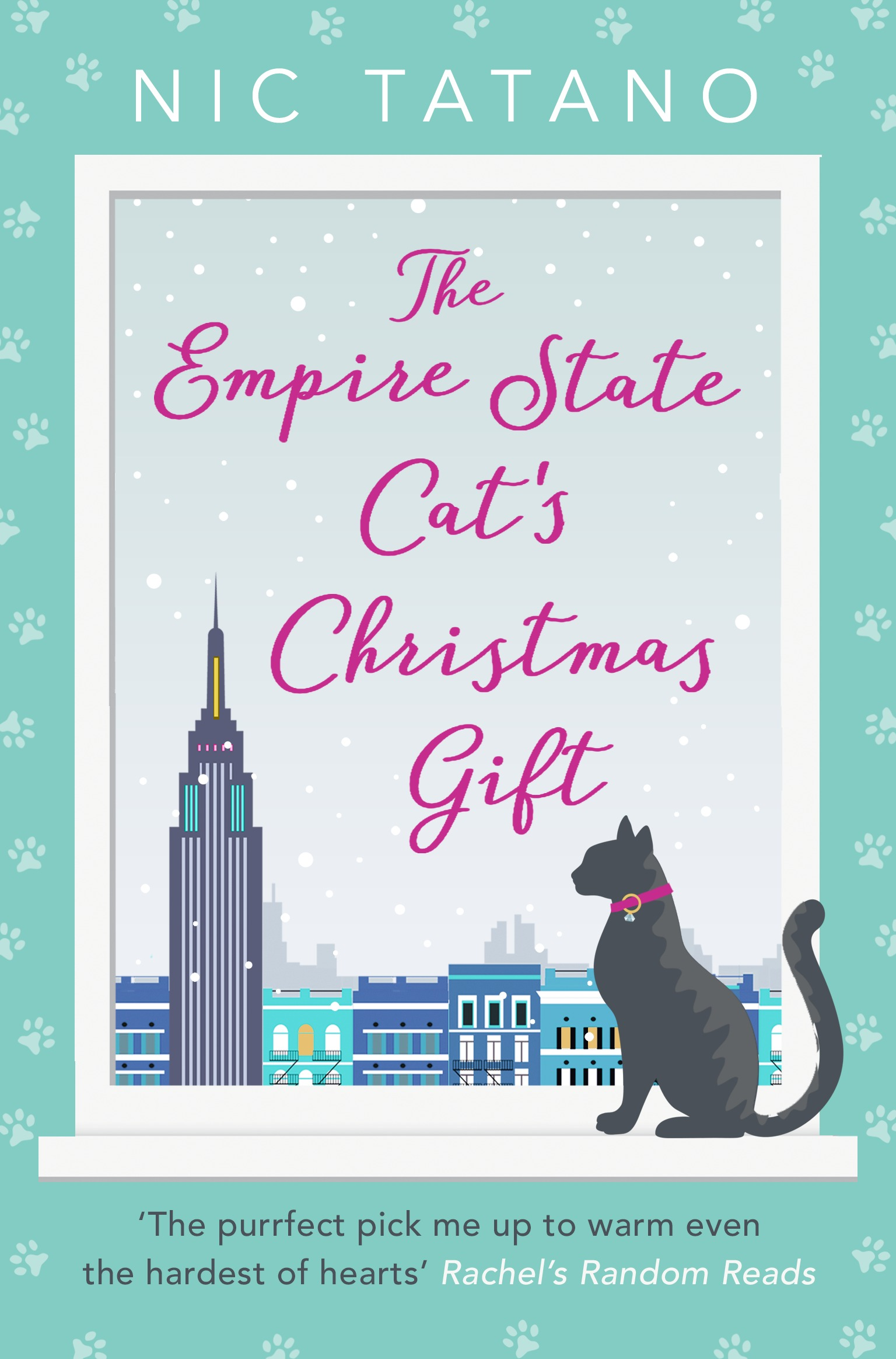 Nic Tatano The Empire State Cat's Christmas Gift 5x7ft 150x210cm vinyl christmas theme picture cloth photography background studio props wooden floor gift christmas socks