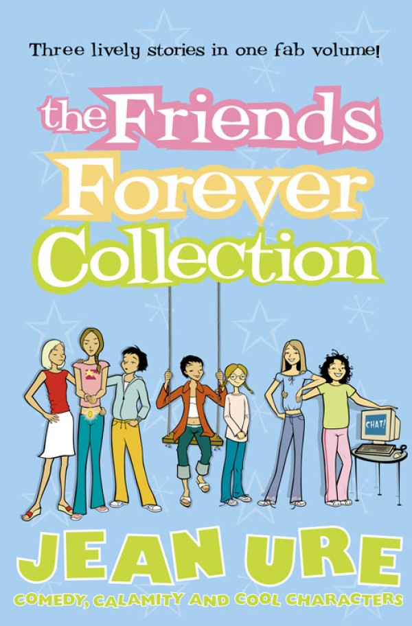 Jean Ure The Friends Forever Collection цена