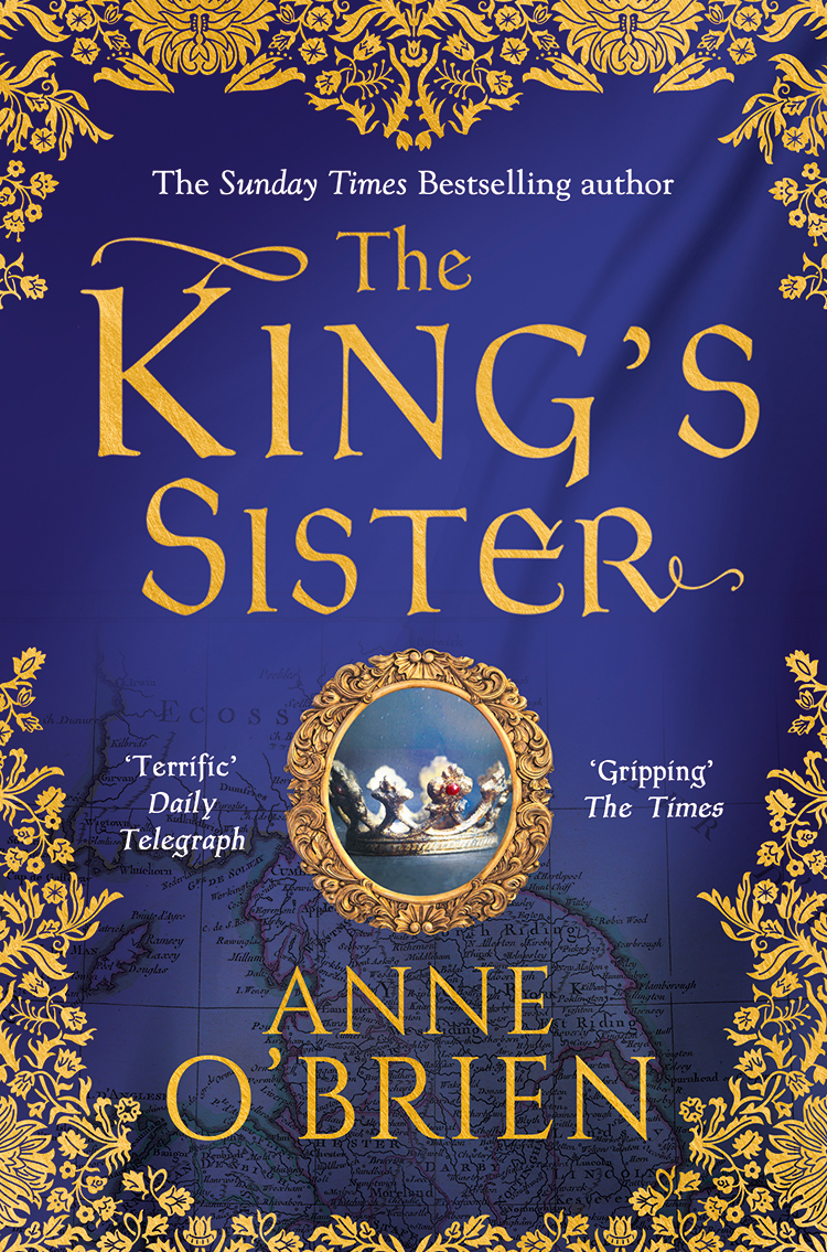 Anne O'Brien The King's Sister цена
