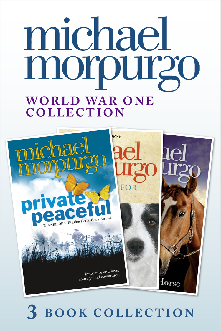 цена на Michael Morpurgo World War One Collection: Private Peaceful, A Medal for Leroy, Farm Boy