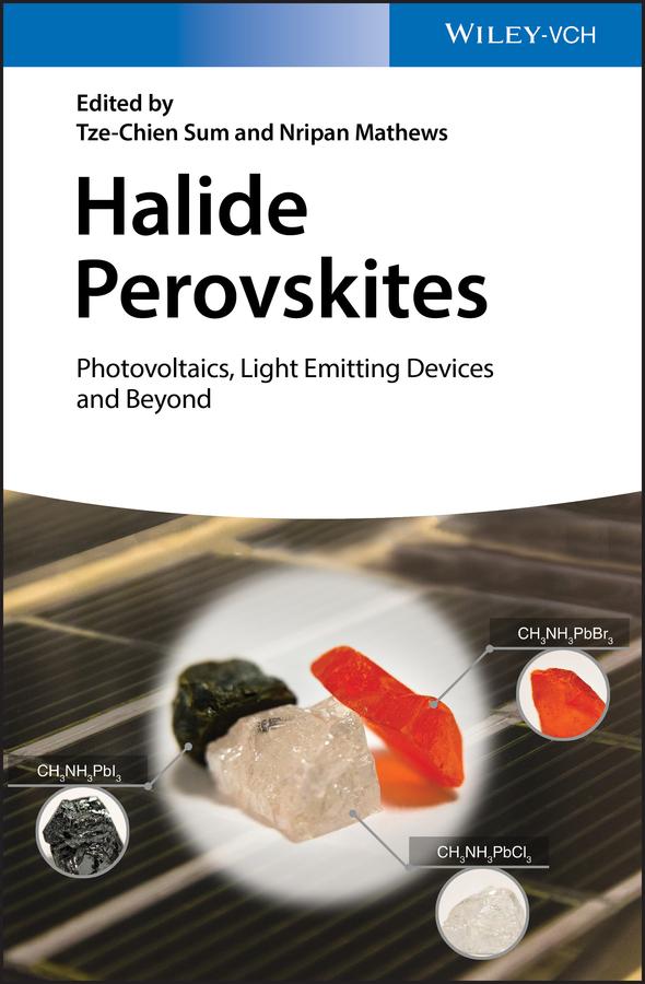 Nripan Mathews Halide Perovskites. Photovoltaics, Light Emitting Devices, and Beyond