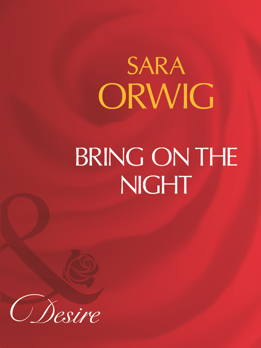 Sara Orwig Bring On The Night jonah and the whale
