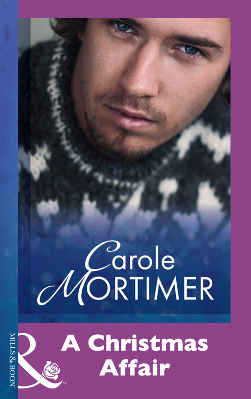 Carole Mortimer A Christmas Affair dominic bliss being the best man for dummies