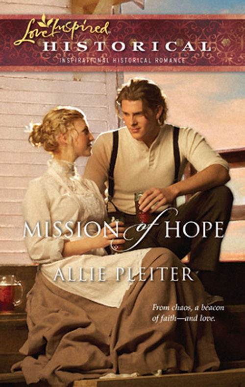 Allie Pleiter Mission of Hope what was the san francisco earthquake