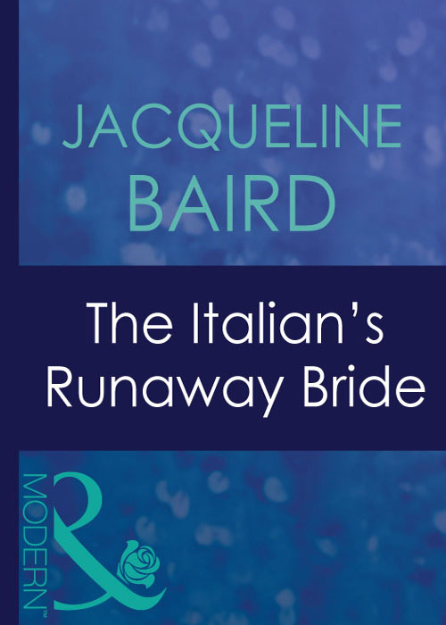 лучшая цена JACQUELINE BAIRD The Italian's Runaway Bride