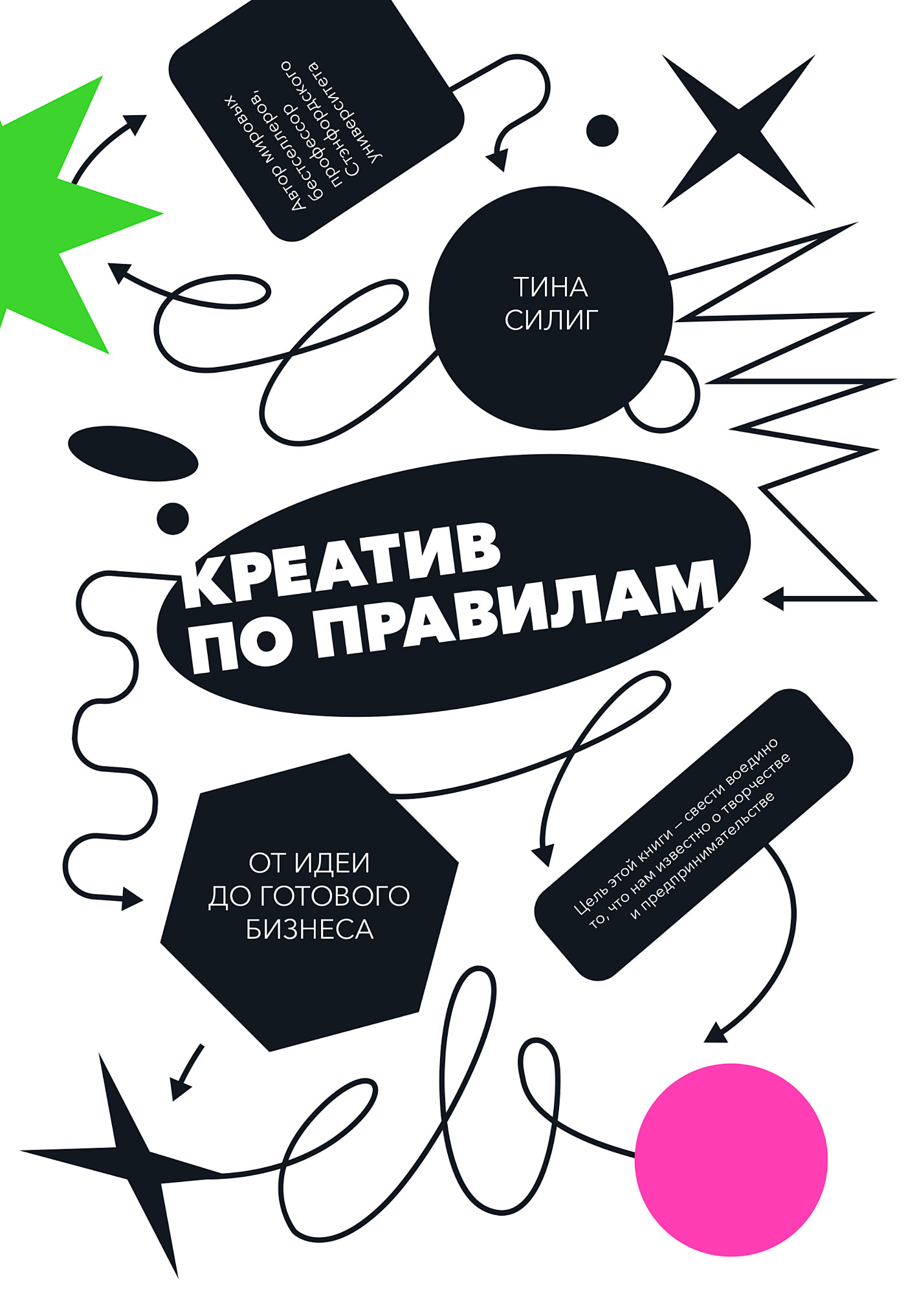 Обложка книги Креатив по правилам. От идеи до готового бизнеса