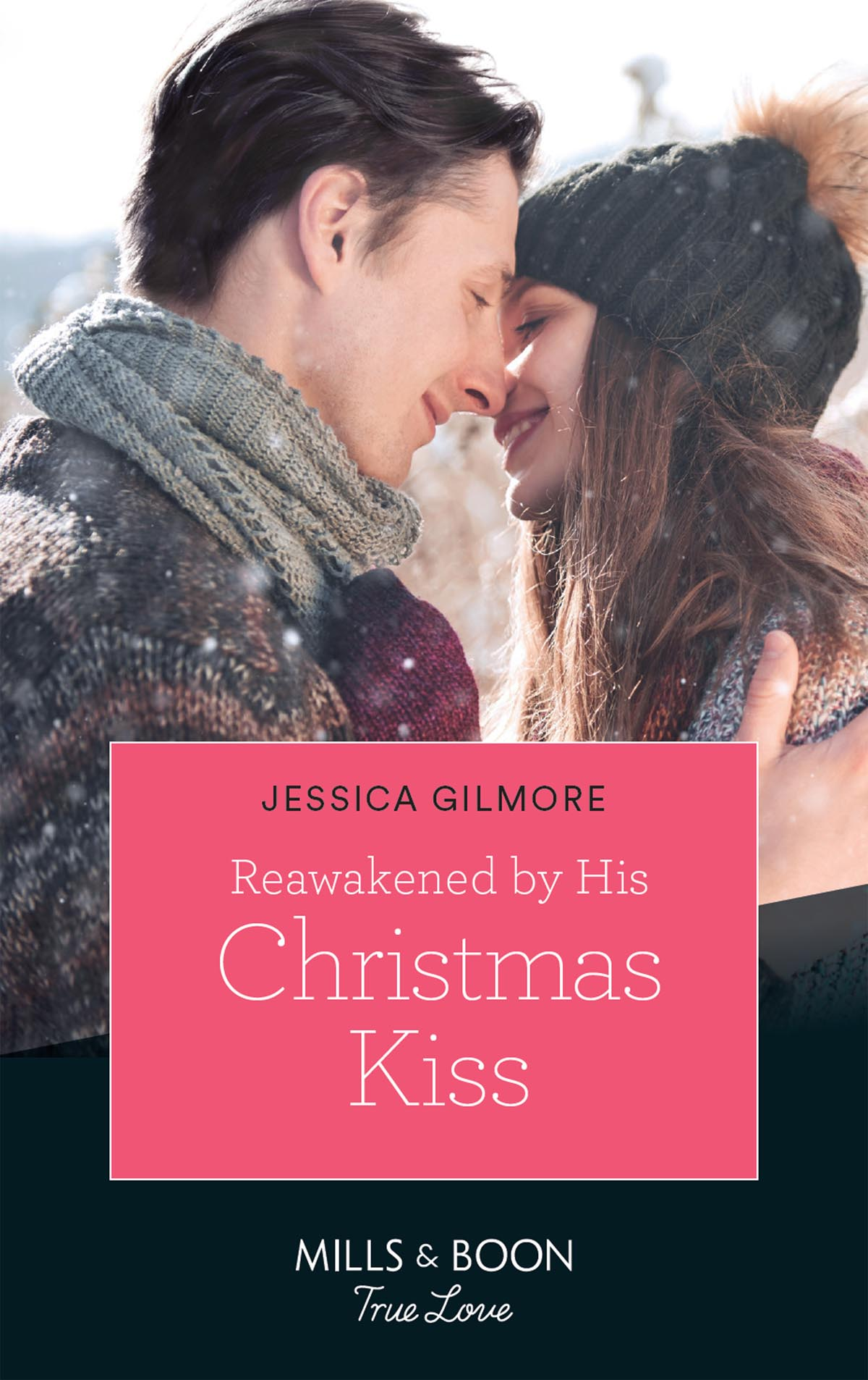 Jessica Gilmore Reawakened By His Christmas Kiss cover her face