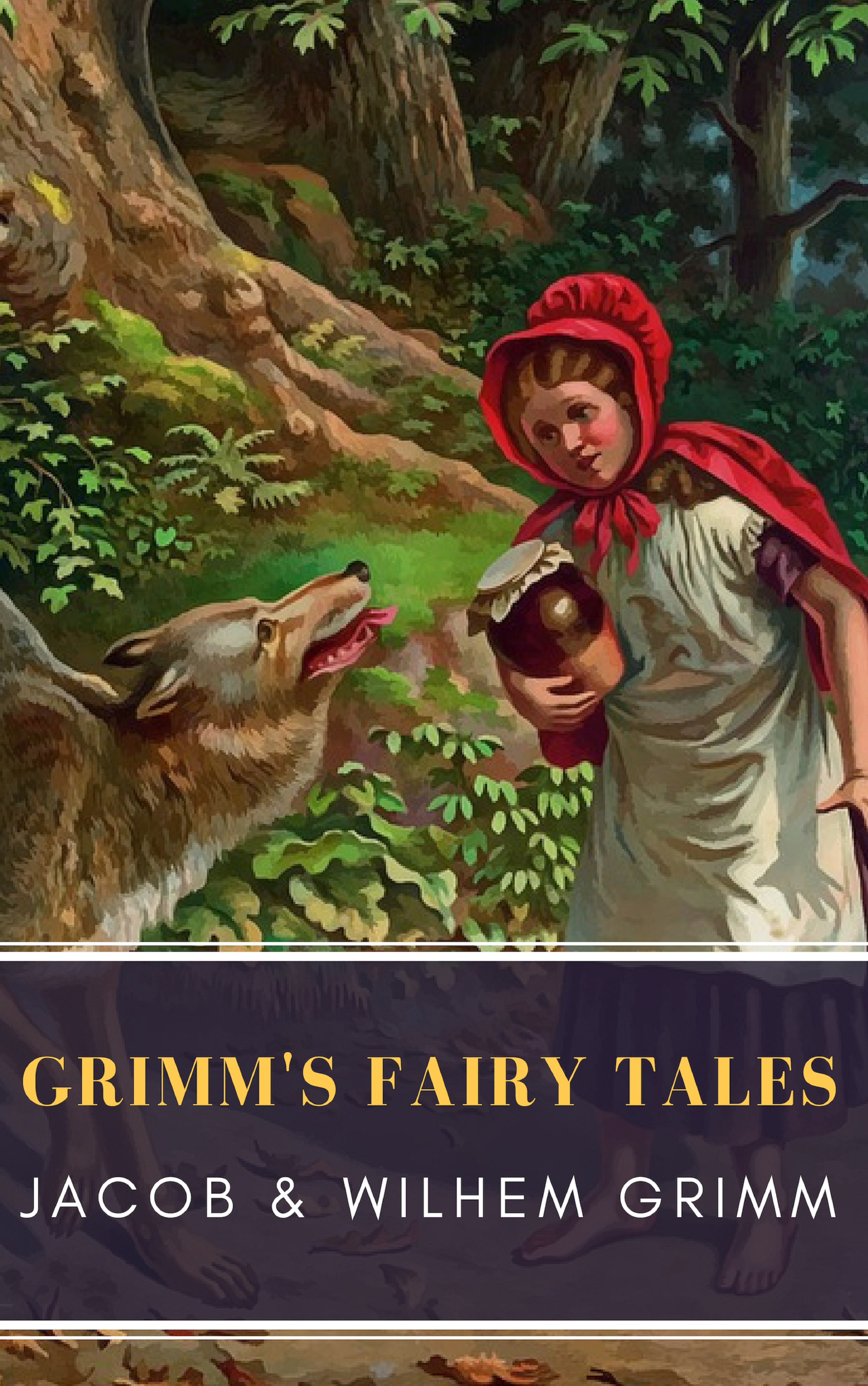 Jacob Grimm Grimm's Fairy Tales: Complete and Illustrated berentes apple r logo – a complete illustrated handbook paper only