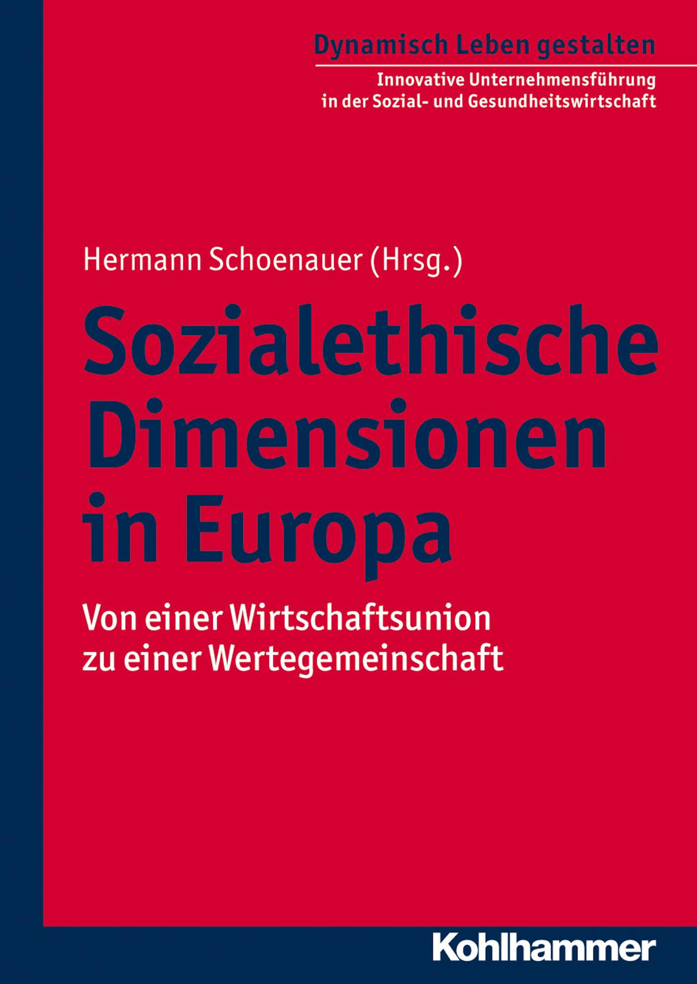 Отсутствует Sozialethische Dimensionen in Europa