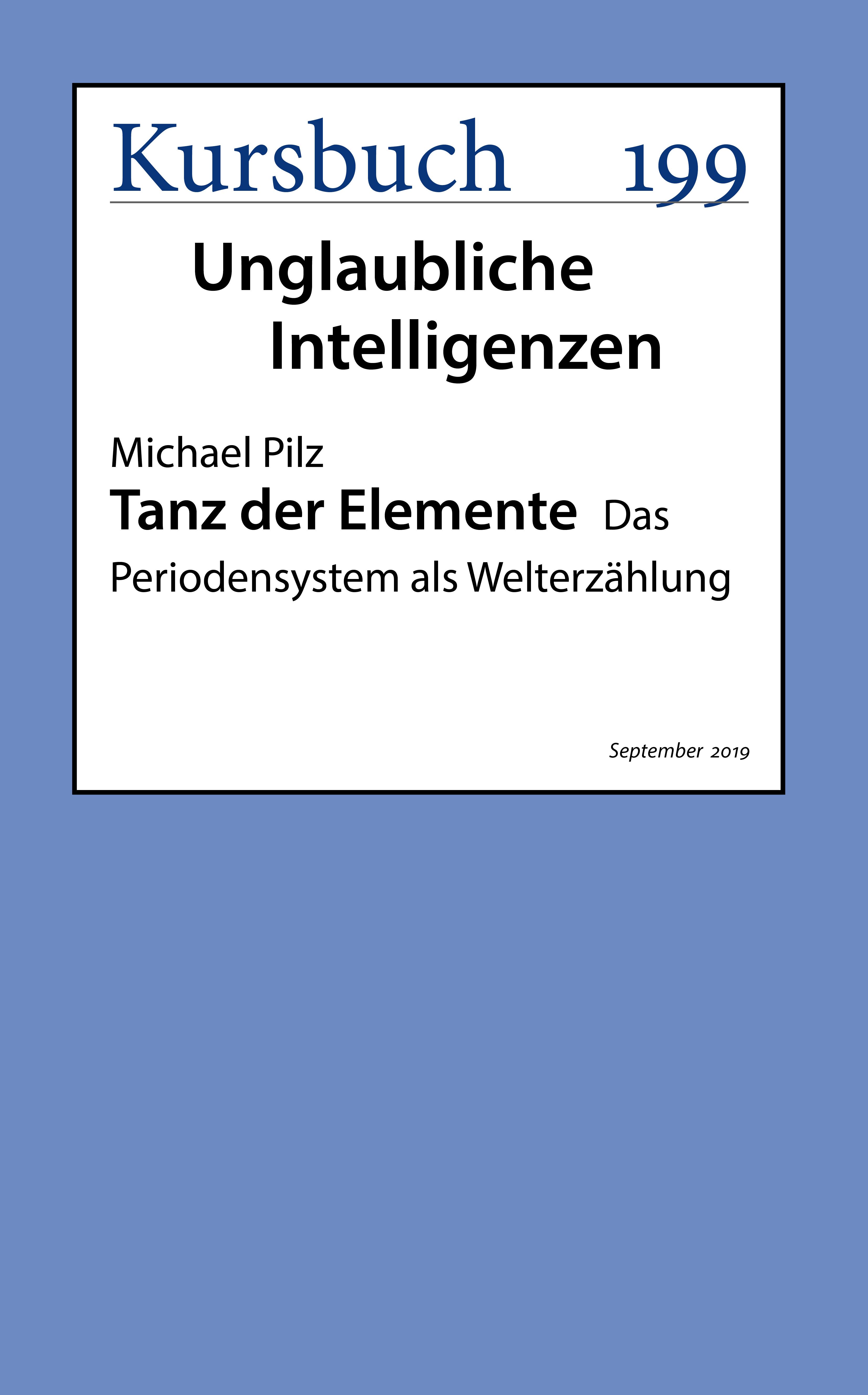 Michael Pilz Tanz der Elemente