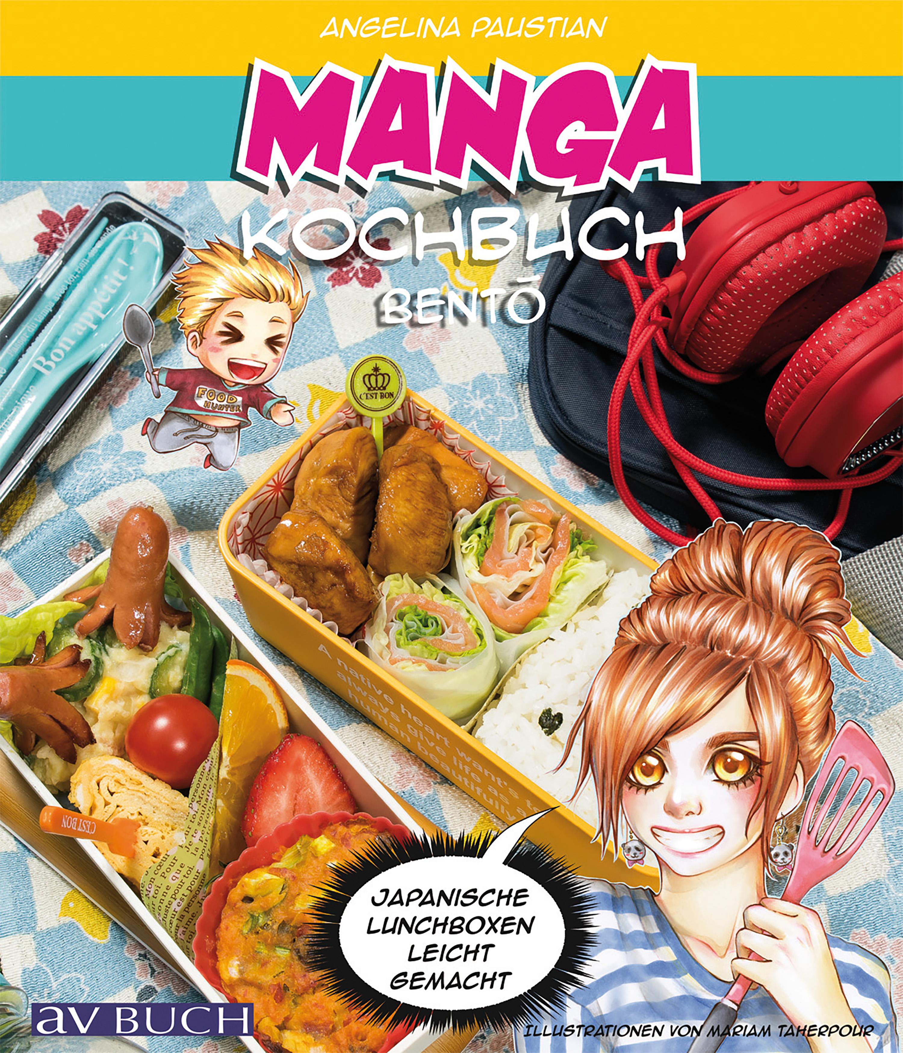 Angelina Paustian Manga Kochbuch Bento