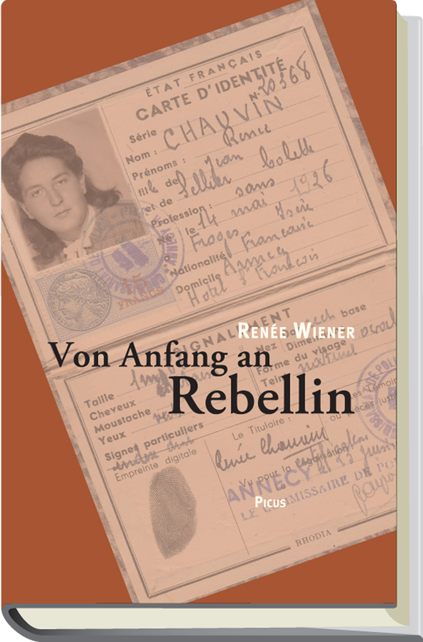 Renee Wiener Von Anfang an Rebellin
