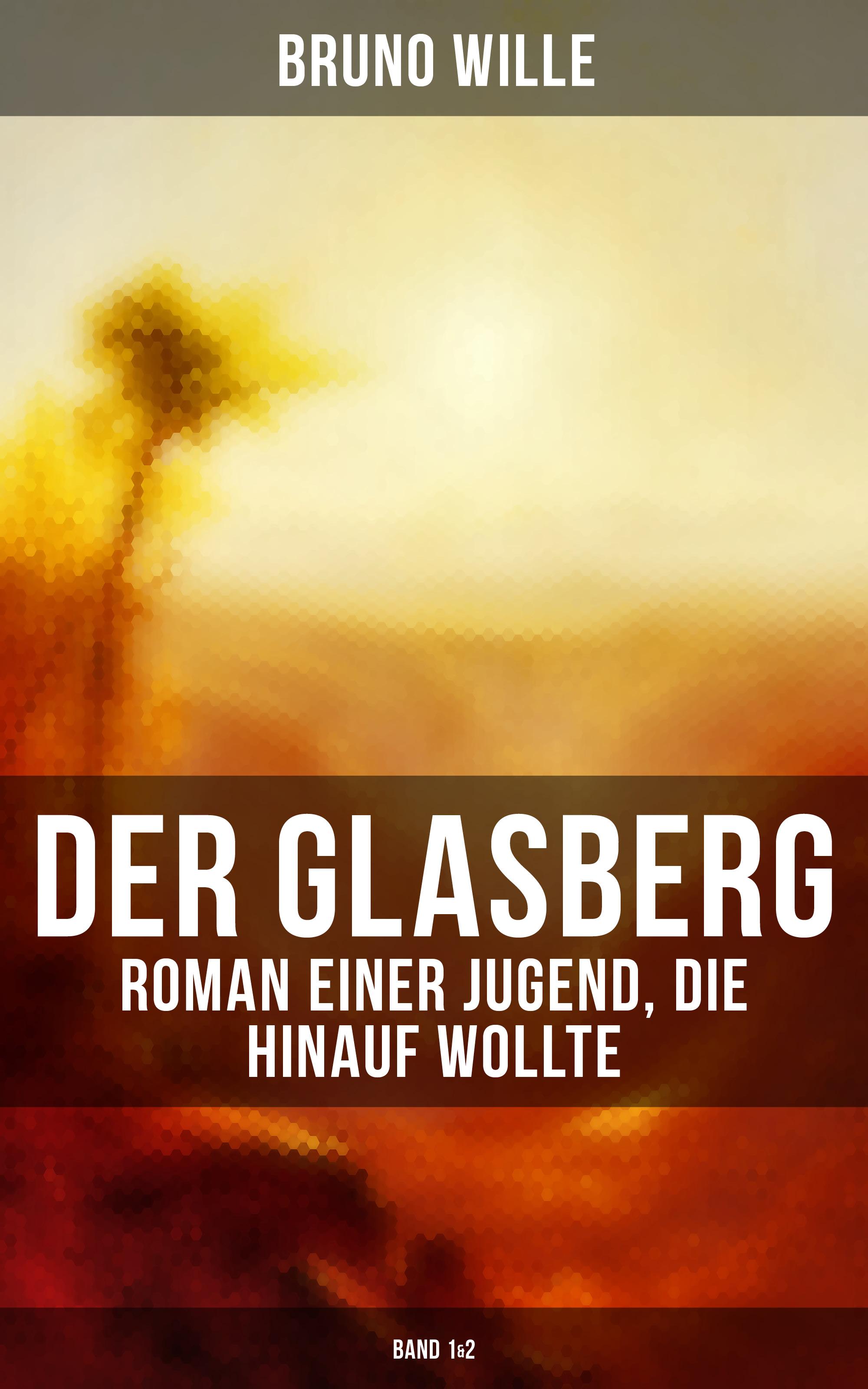 Bruno Wille DER GLASBERG: Roman einer Jugend, die hinauf wollte (Band 1&2) bruno wille der glasberg roman einer jugend die hinauf wollte band 1