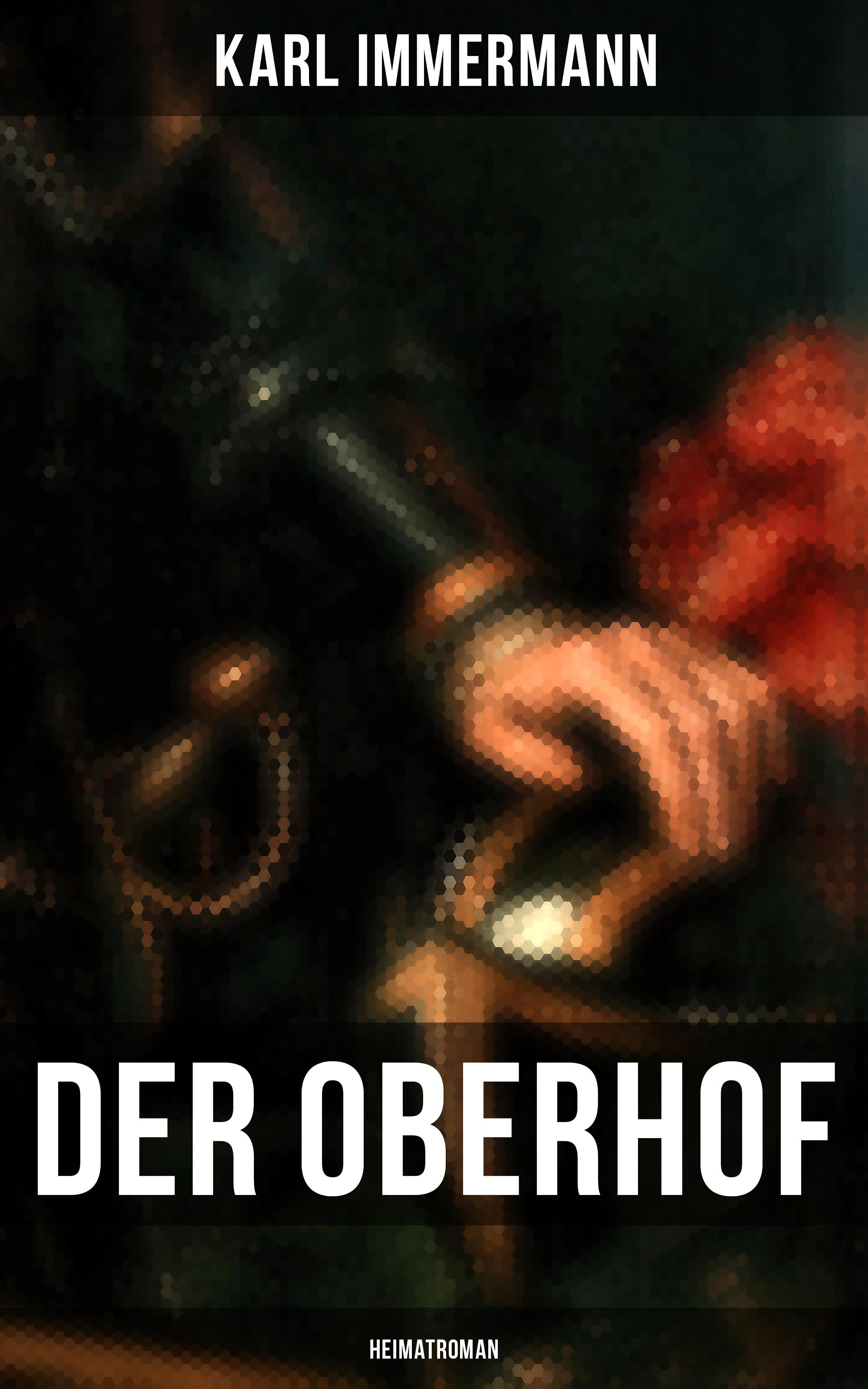 Karl Immermann Der Oberhof: Heimatroman цена и фото