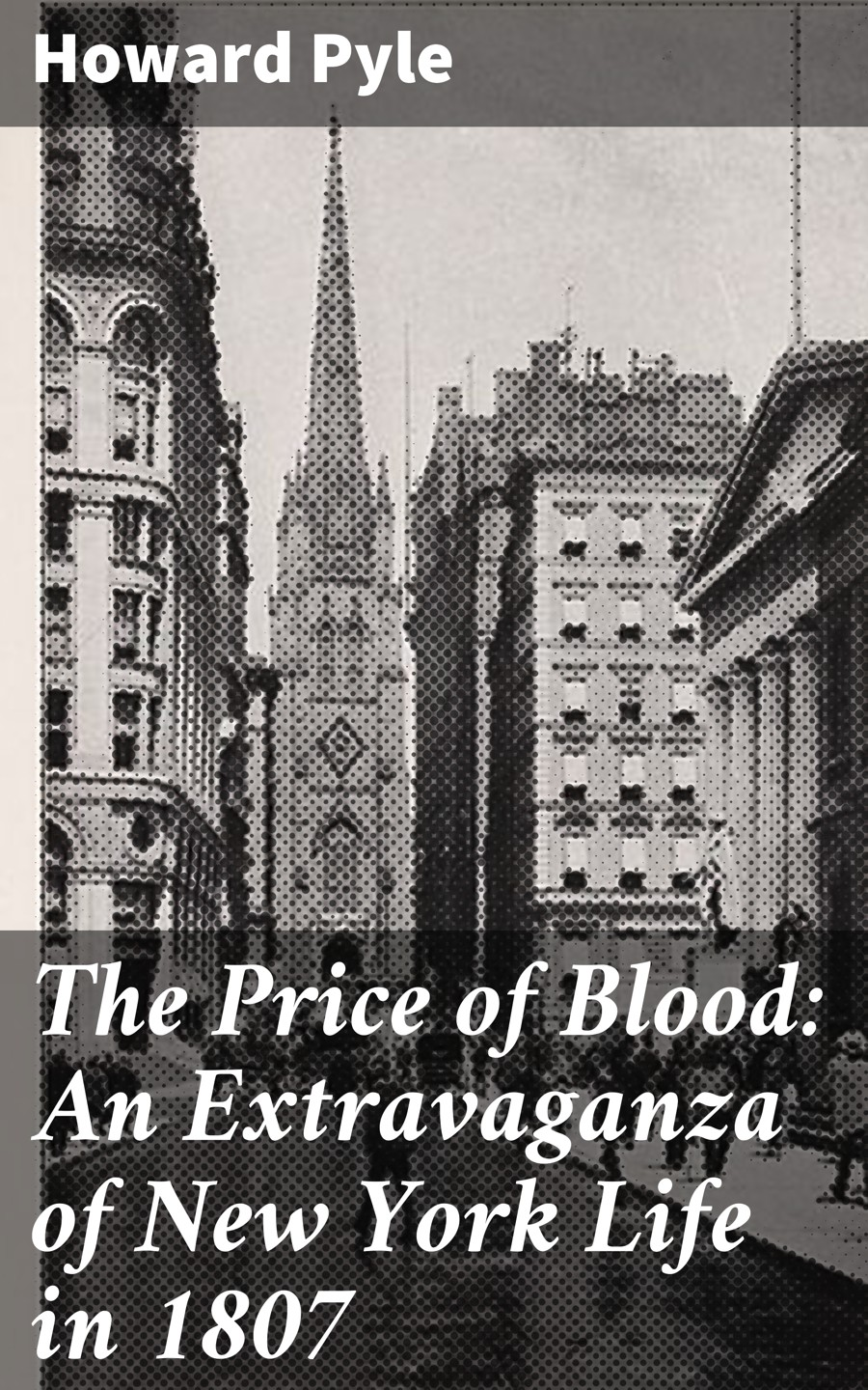 Фото - Howard Pyle The Price of Blood: An Extravaganza of New York Life in 1807 howard pyle men of iron