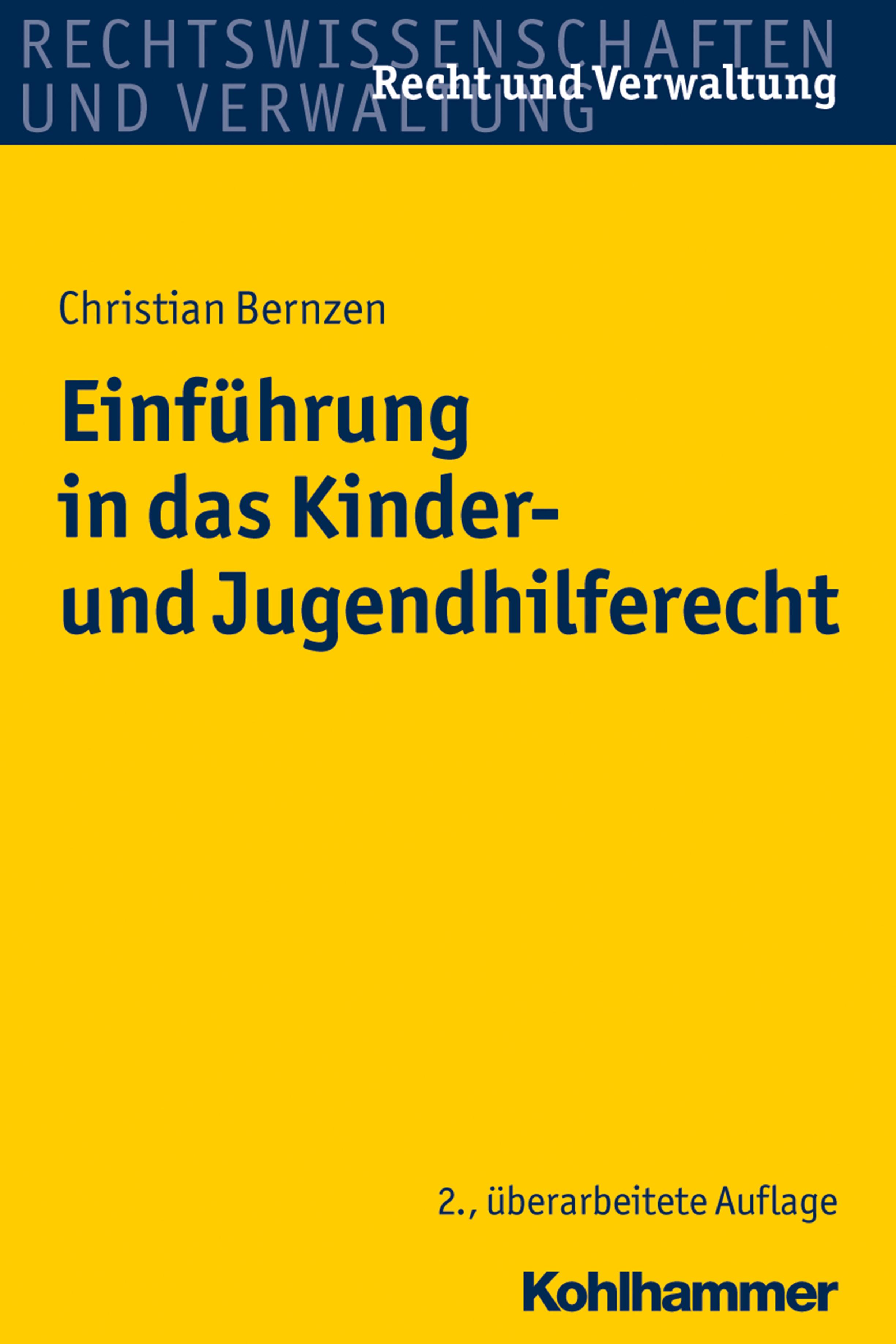 цены Christian Bernzen Einführung in das Kinder- und Jugendhilferecht