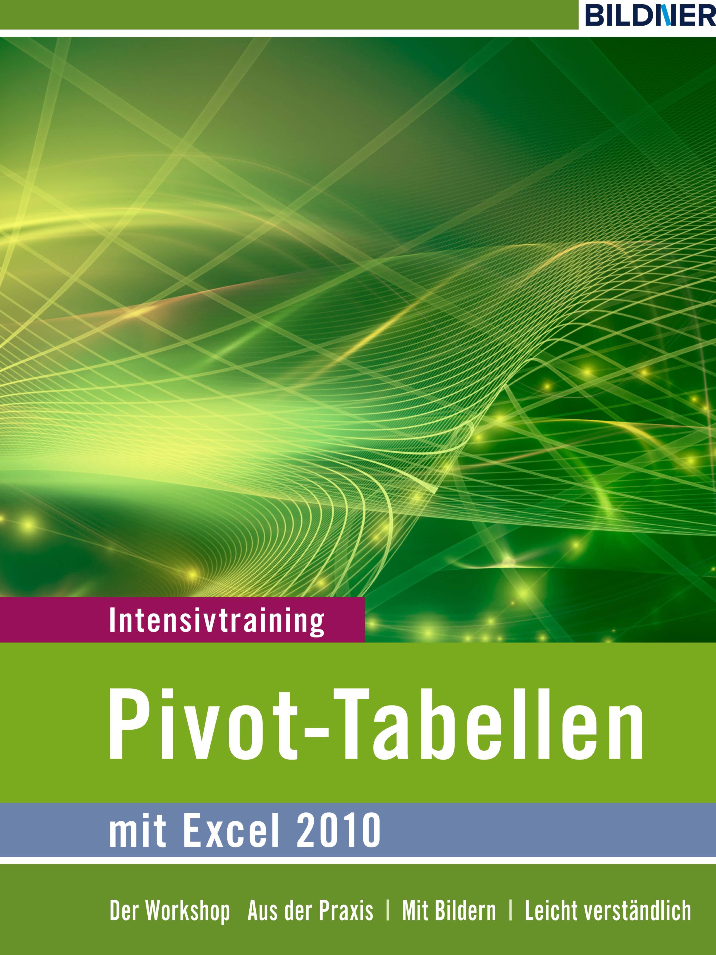 Inge Baumeister Pivot-Tabellen mit Excel 2010
