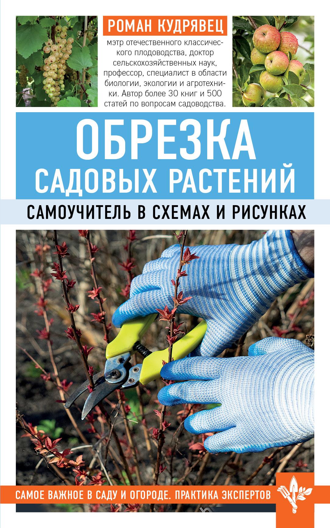 Роман Кудрявец Обрезка садовых растений. Самоучитель в схемах и рисунках