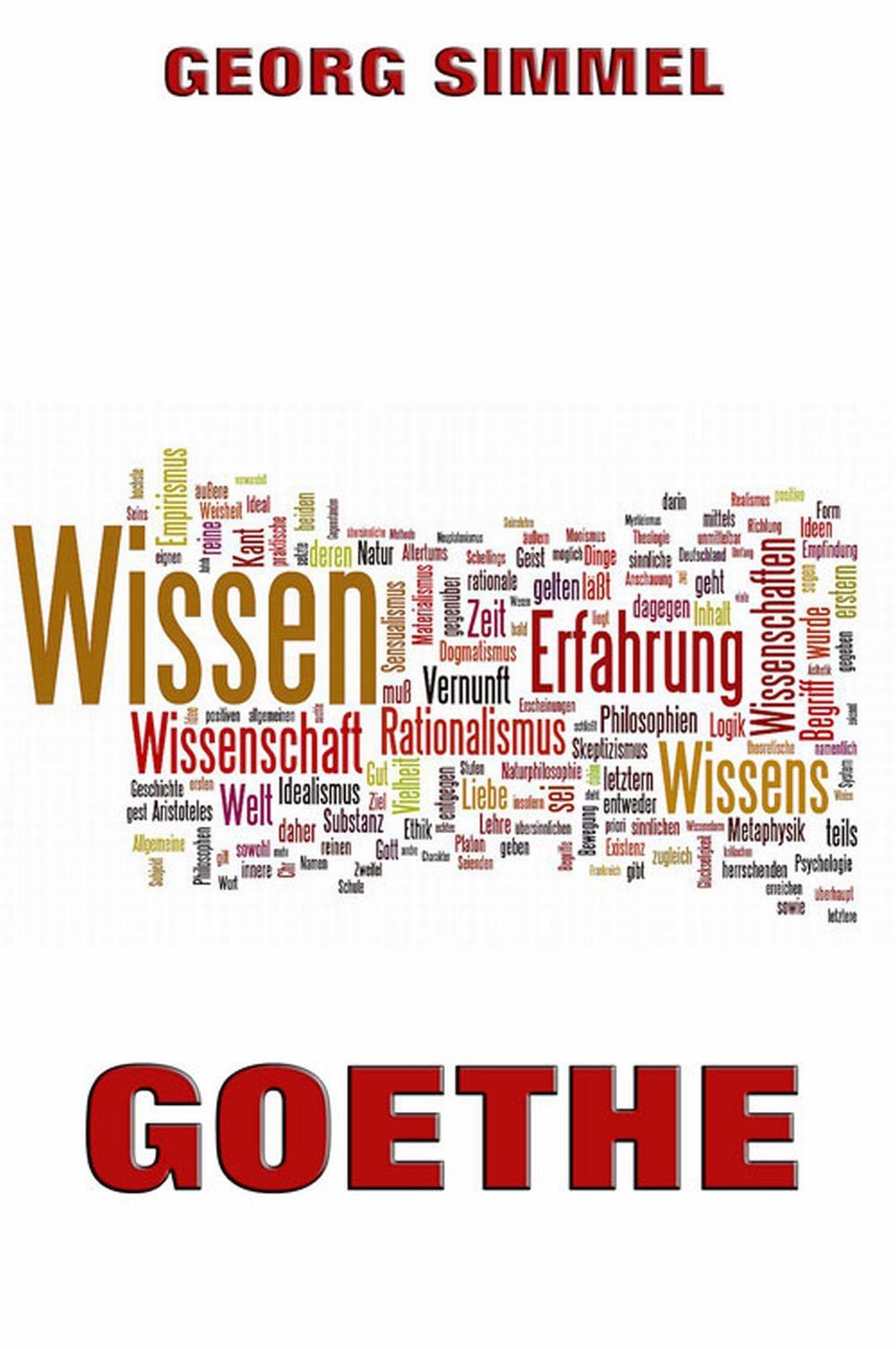 цена Simmel Georg Goethe онлайн в 2017 году