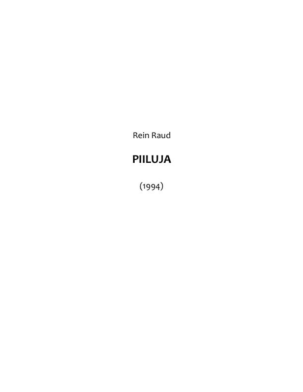 цена Rein Raud Piiluja онлайн в 2017 году