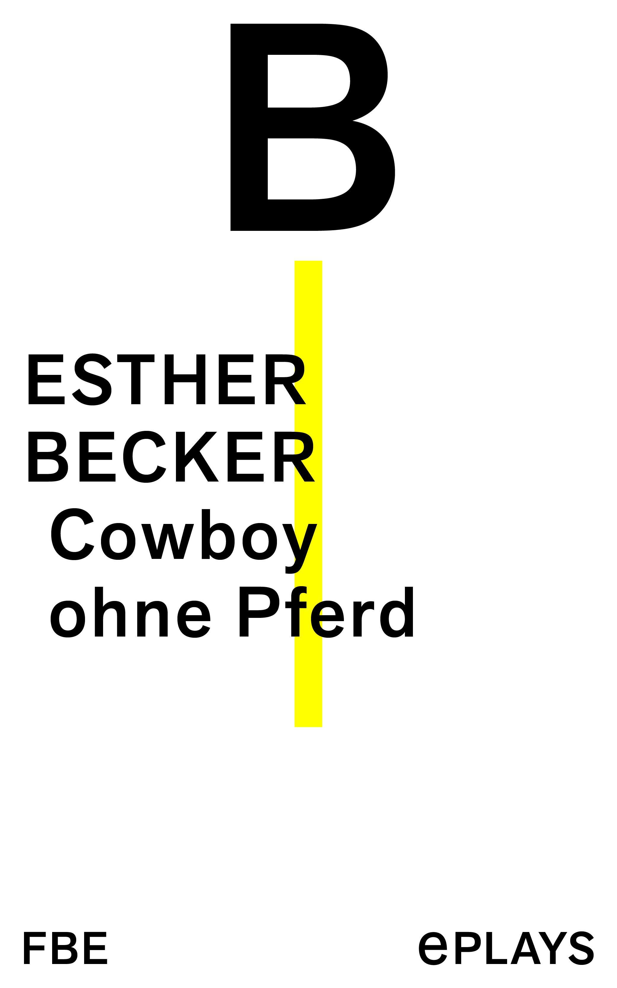 Esther Becker Cowboy ohne Pferd karl joël nietzsche und die romantik