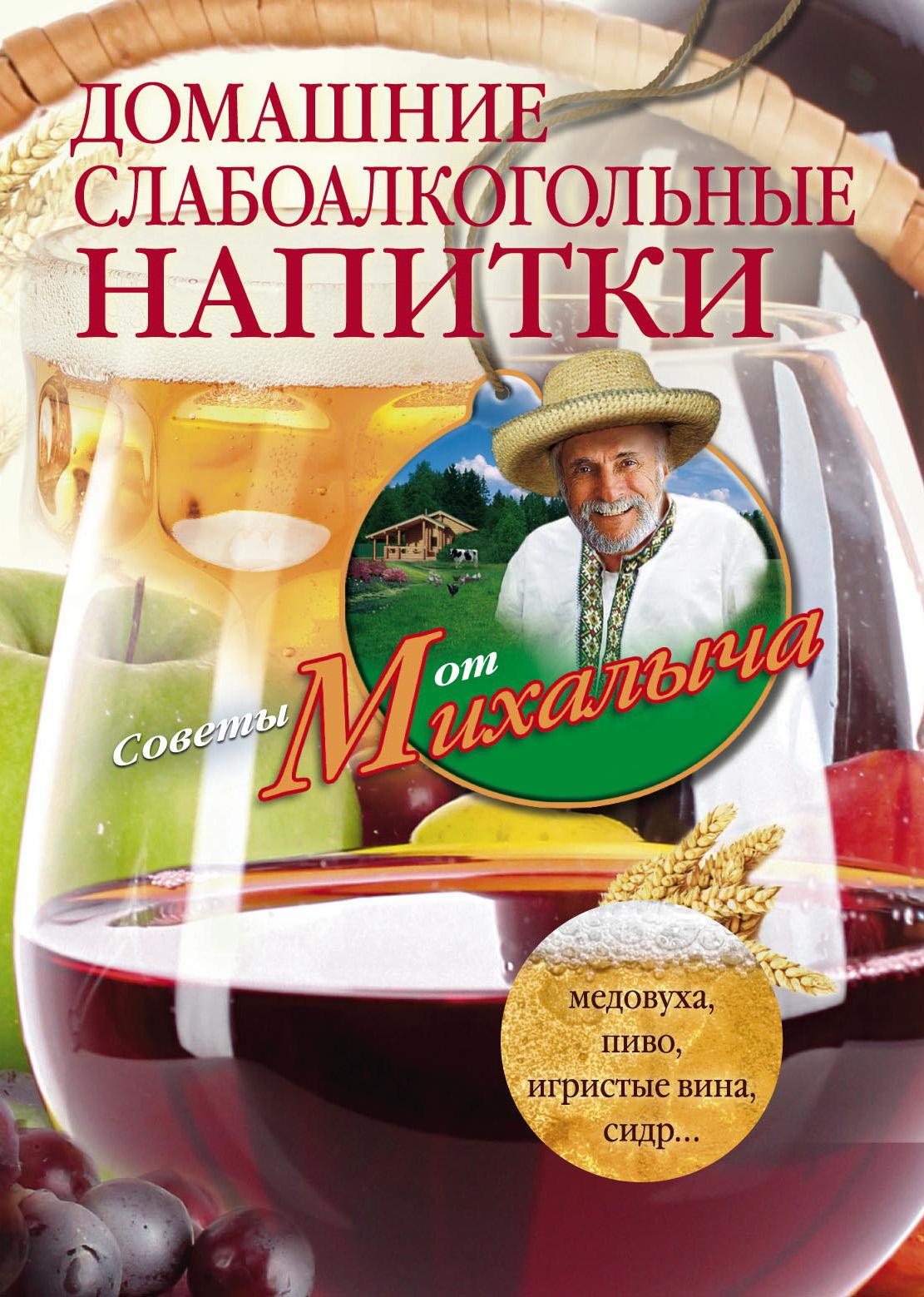 Николай Звонарев Домашние слабоалкогольные напитки. Медовуха, пиво, игристые вина, сидр…