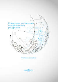 Обложка «Концепции управления человеческими ресурсами»