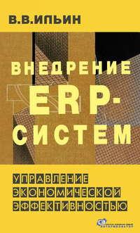 Обложка «Внедрение ERP-систем: управление экономической эффективностью»