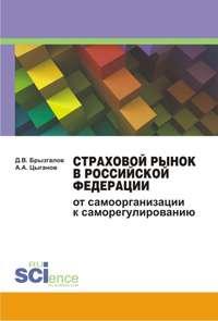 Обложка «Страховой рынок в Российской Федерации. От самоорганизации к саморегулированию. Монография»