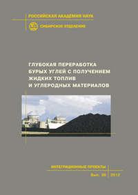 Обложка «Глубокая переработка бурых углей с получением жидких топлив и углеродных материалов»