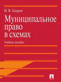 Обложка «Муниципальное право в схемах»
