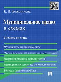 Обложка «Муниципальное право в схемах. Учебное пособие»