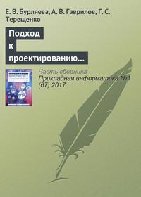 Обложка «Подход к проектированию технологических схем химического производства на основе языков предметной области»