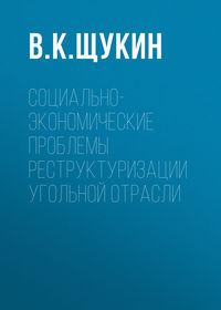 Обложка «Социально-экономические проблемы реструктуризации угольной отрасли»