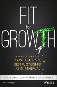 Обложка «Fit for Growth. A Guide to Strategic Cost Cutting, Restructuring, and Renewal»