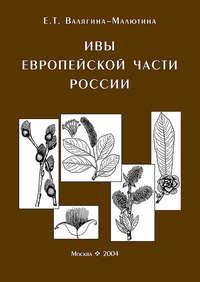Обложка «Ивы европейской части России. Иллюстрированное пособие для работников лесного хозяйства»