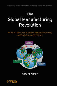 Обложка «The Global Manufacturing Revolution. Product-Process-Business Integration and Reconfigurable Systems»